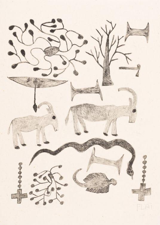 Fulai (Flai) Shipipa; Two Rosaries and an Eel