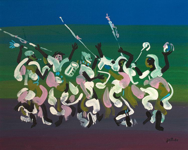 Walter Battiss; African Dance