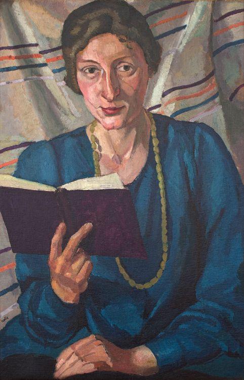 Edward Wolfe; Portrait of Milly Heymann