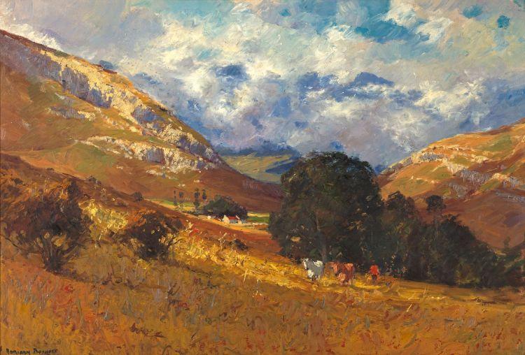 Adriaan Boshoff; Cattle Grazing