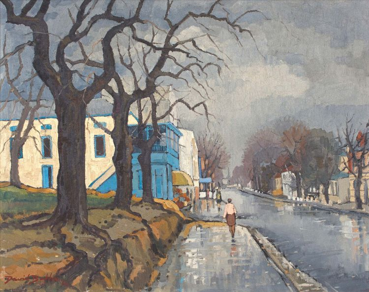 David Botha; Wet Street, Paarl