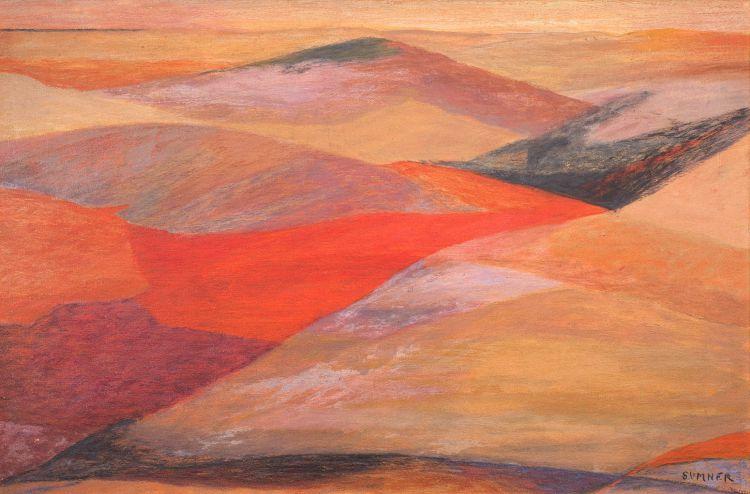 Maud Sumner; Desert Landscape