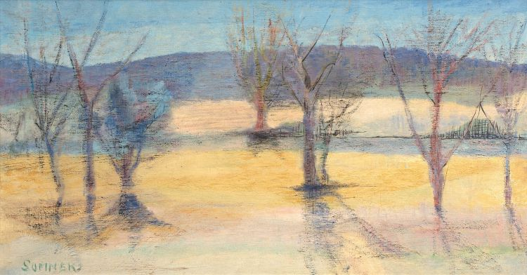 Maud Sumner; Landscape with Trees