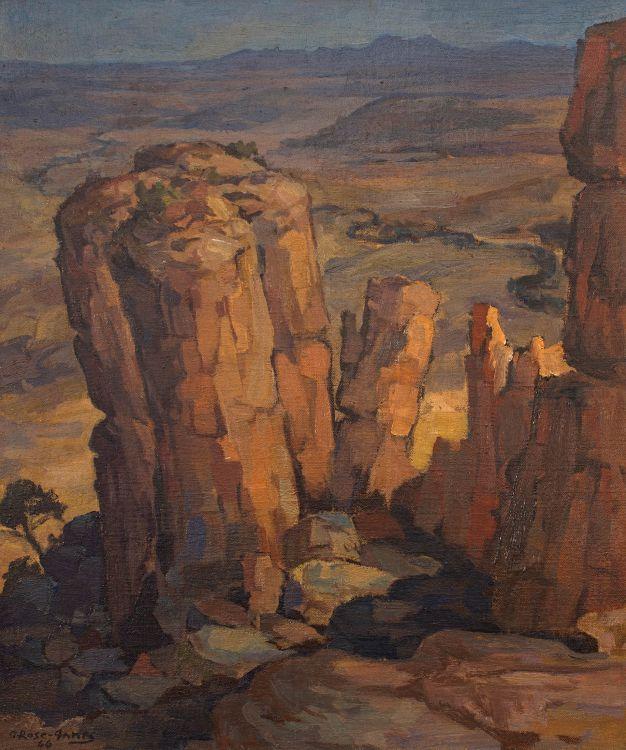 Alexander Rose-Innes; Valley of Desolation, Graaff-Reinet