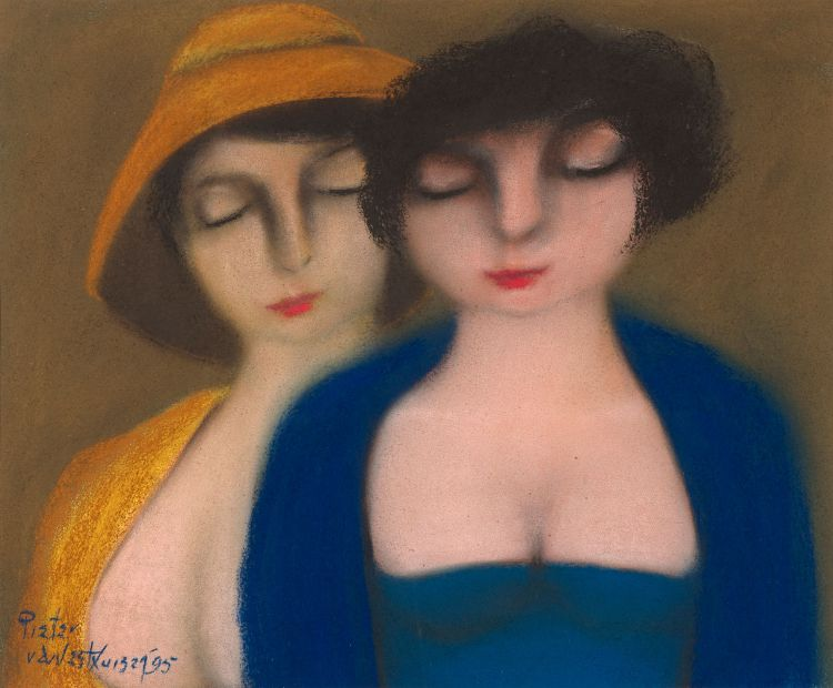 Pieter van der Westhuizen; Two Women