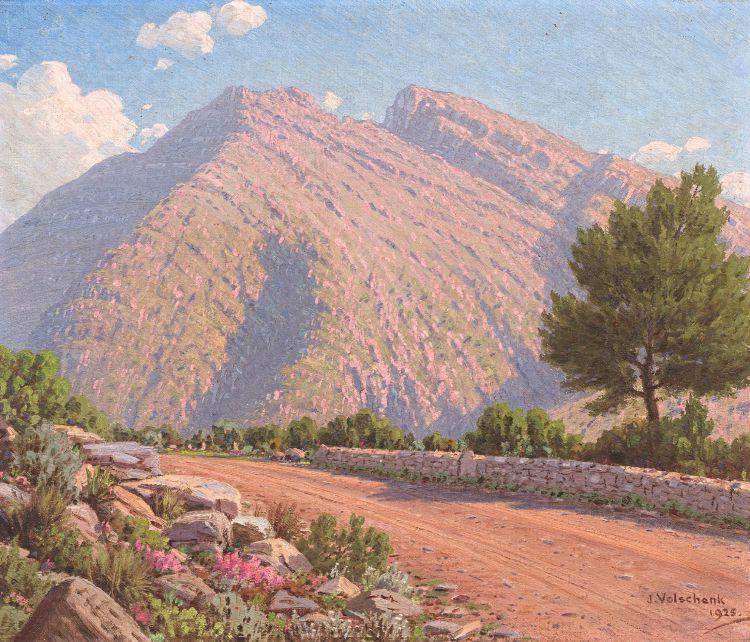Jan Ernst Abraham Volschenk; In Garcia's Pass, Riversdale