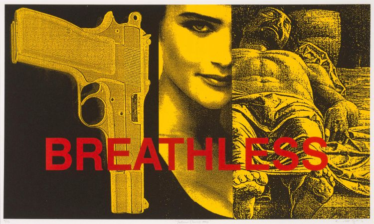 Kendell Geers; Yellow Christ (Breathless)