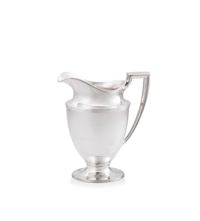 A Tiffany & Co silver water pitcher, 1907-1947, .925 sterling