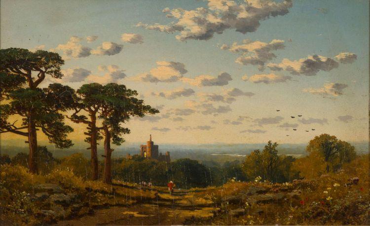 Edward H Niemann; On the Wharfe, Yorks
