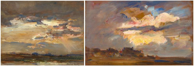 James Herbert Snell; Atmospheric Landscapes, two
