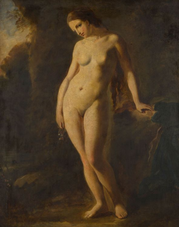 Manner of William Etty; Standing Nude