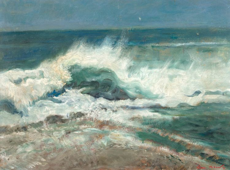 Terence McCaw; The Sea, Hermanus