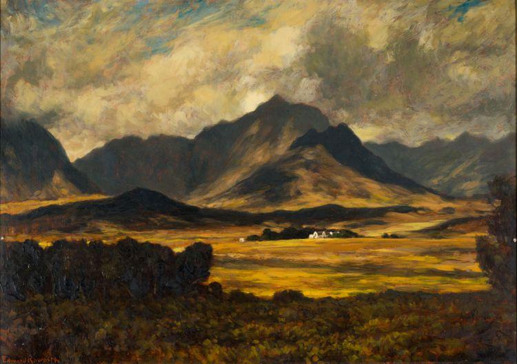 Edward Roworth; The Gathering Storm, Koelenhof, Stellenbosch