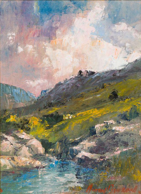 Anton Benzon; Mountain Stream