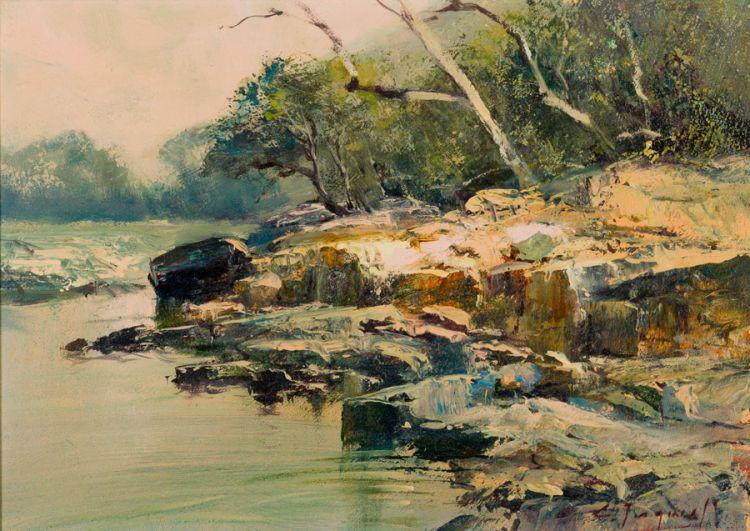 Christopher Tugwell; River Bank