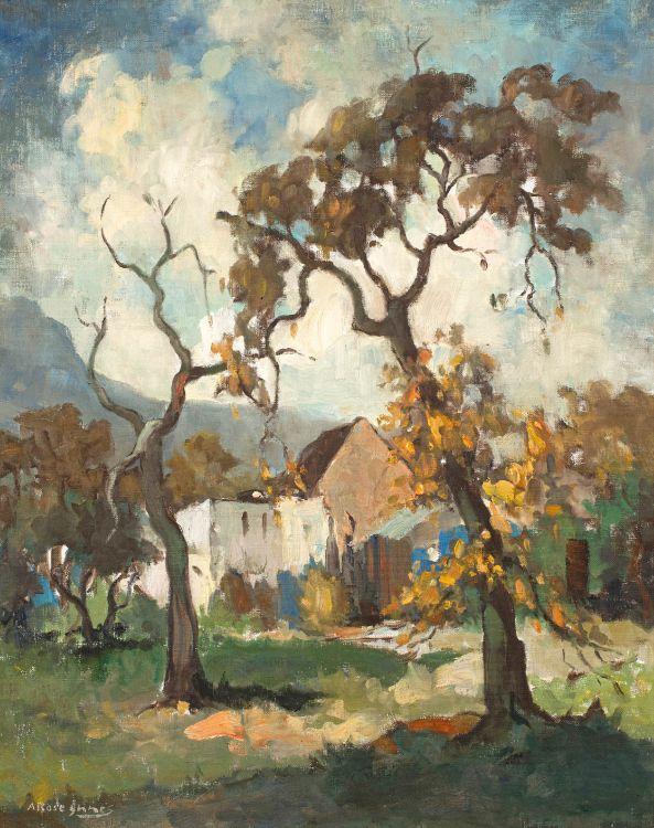 Alexander Rose-Innes; Autum Oaks, Wynberg (sic)
