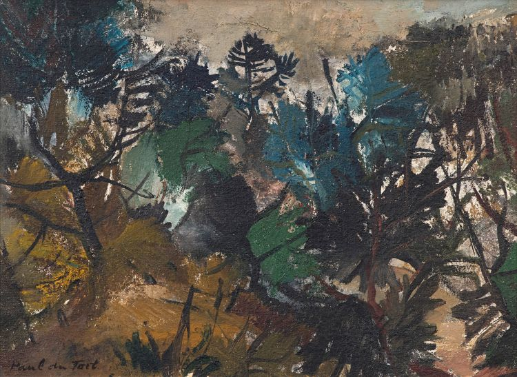 Paul du Toit; Wooded Landscape