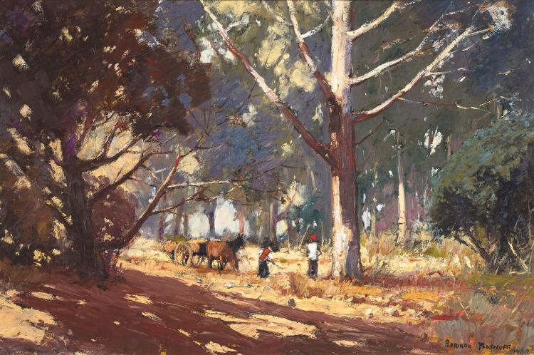 Adriaan Boshoff; A Timber Wagon and Woodcutters