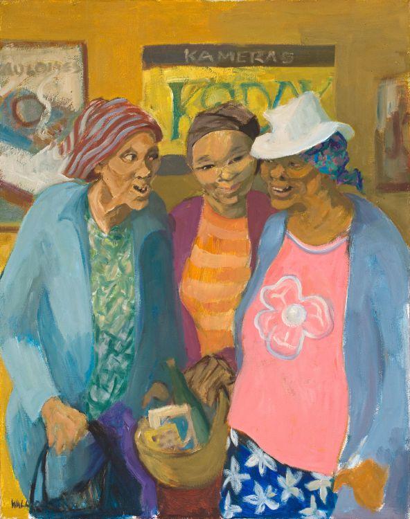 Marjorie Wallace; Gossips