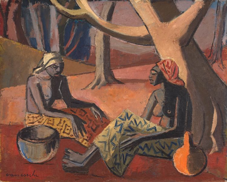 Maurice van Essche; Congolese Women