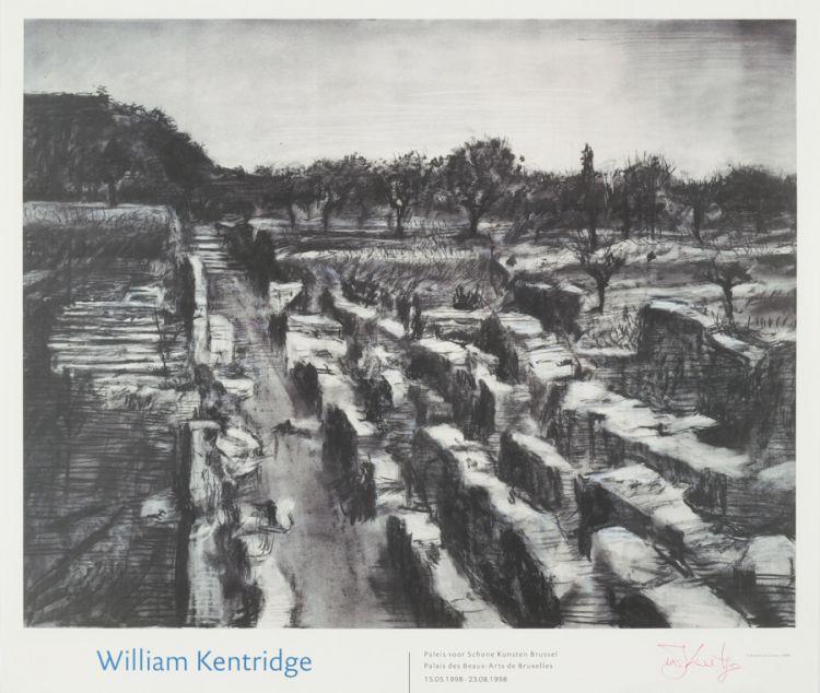 William Kentridge; Paleis voor Schone Kunsten Brussel