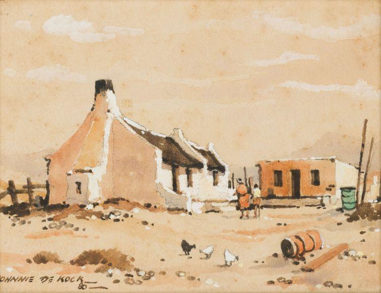 Johnnie de Kock; Fishermen's Cottages