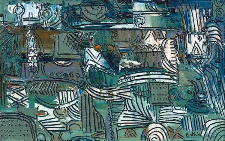 Walter Battiss; Untitled