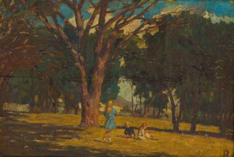 Ruth Prowse; Children in the Park