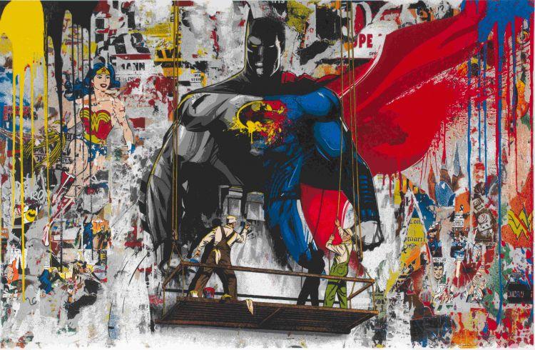 Mr Brainwash; Batman vs Superman