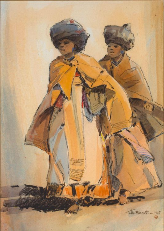 Titta Fasciotti; Two Xhosa Women