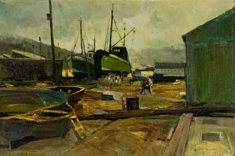 Errol Boyley; Dockyard