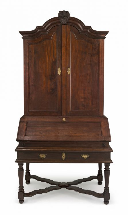 A Cape teak escritoire, late 18th century