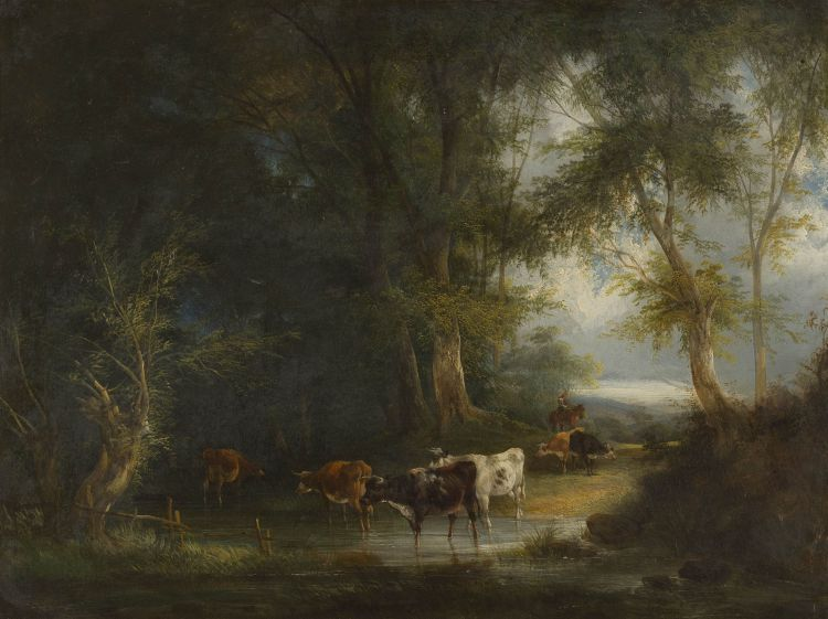 Manner of Constant Tryon; Cattle Crossing