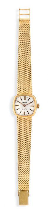 Lady's 18ct gold Ermaten wristwatch, 1970s