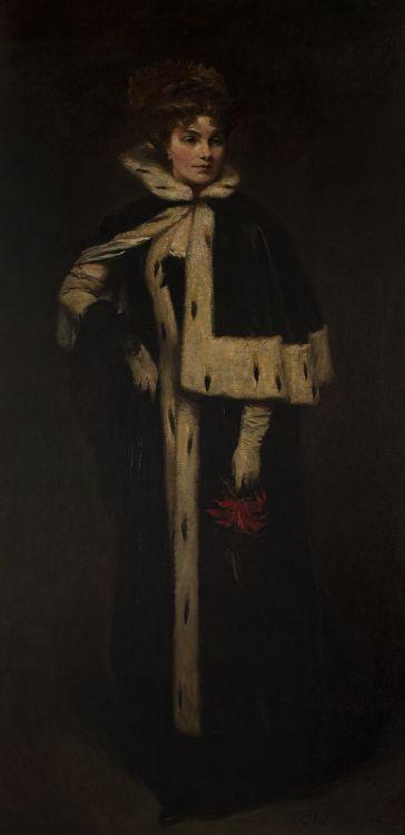 Glyn Warren Philpot; Portrait of Jean Ewing Fitzwilliams