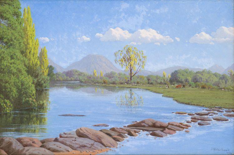 Jan Ernst Abraham Volschenk; Below the Drift: The Morass River, Oudtshoorn