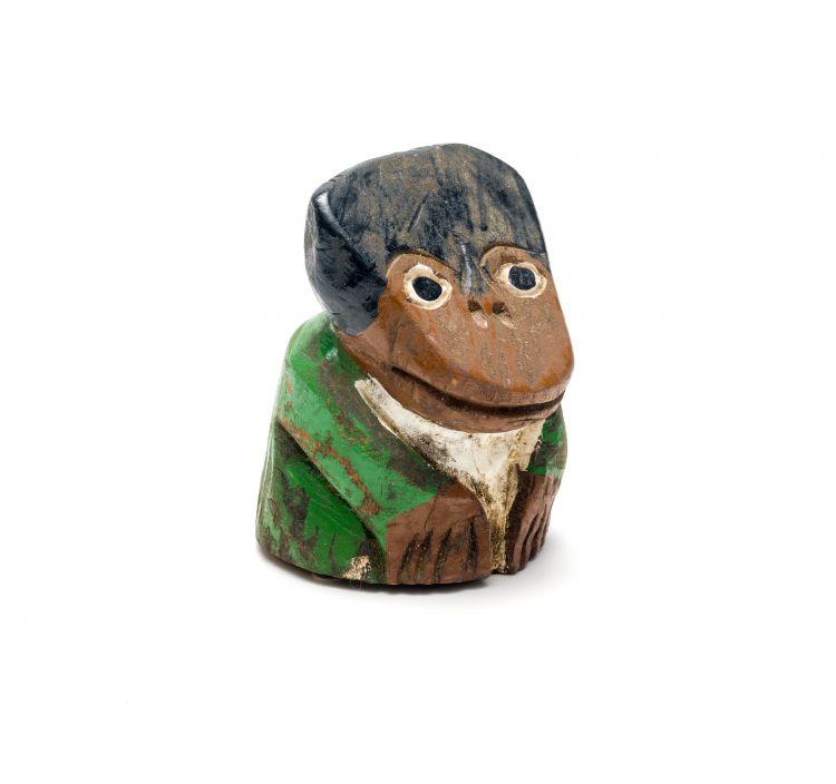 Phillip Rikhotso; Figure in Green Jacket
