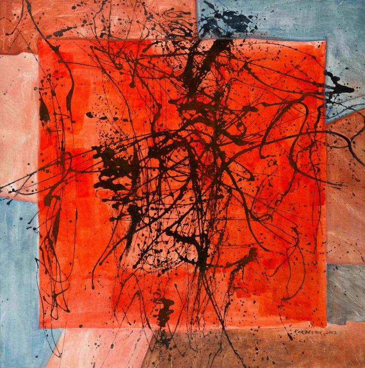 Mickey Korzennik; Early Morning Orange
