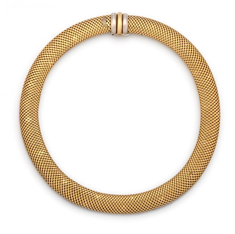 Italian gold necklace, Berrani