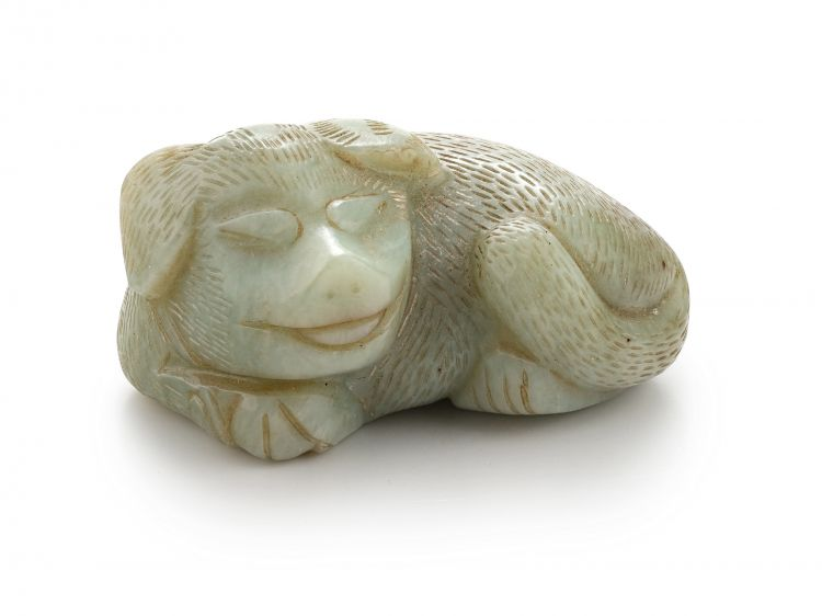 A Chinese jade carving, 20th century