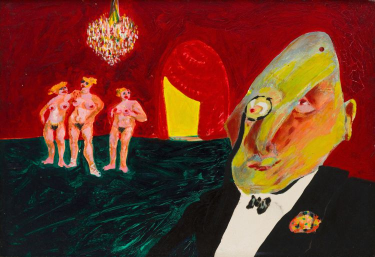 Robert Hodgins; Ubu and the Judgement of Paris
