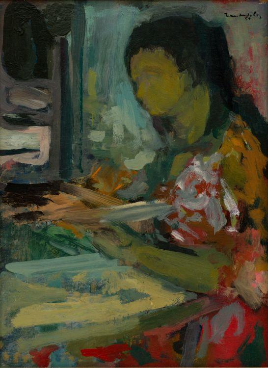 Jean Welz; Girl Reading