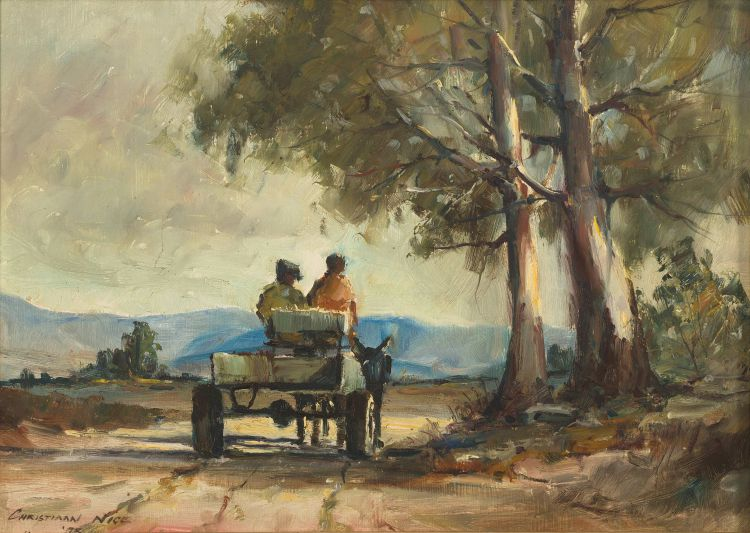 Christiaan Nice; Donkey Cart