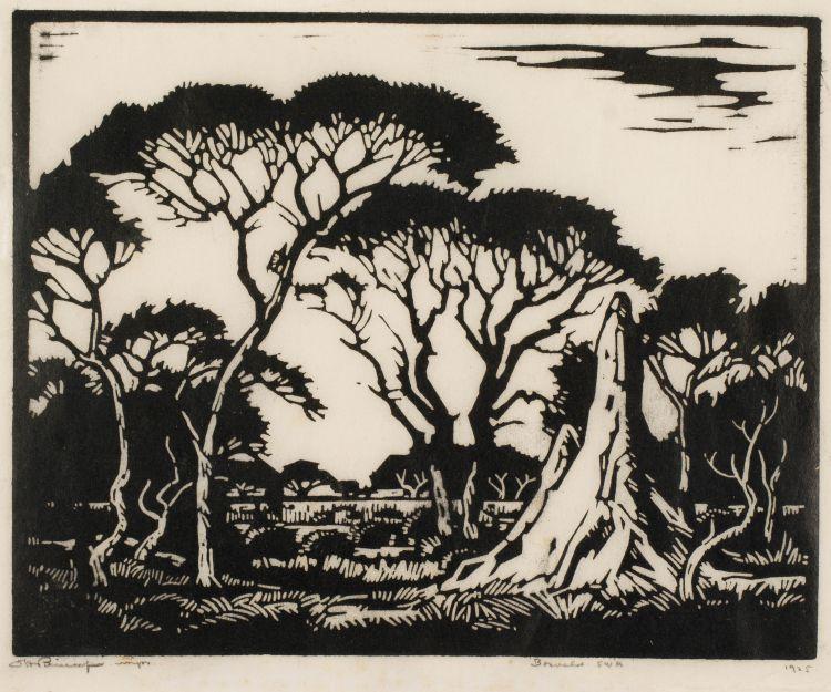 Jacob Hendrik Pierneef; Miershoop (Termite Mound), SWA (Niland 115)