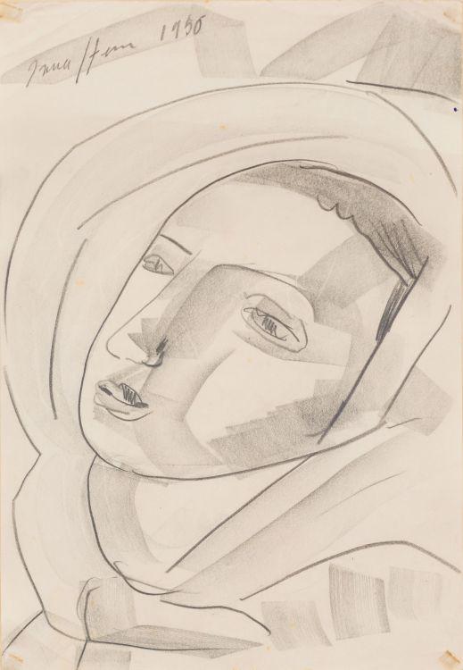 Irma Stern; Portrait Study