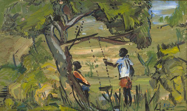 Zakkie Eloff; Figures with a Swing