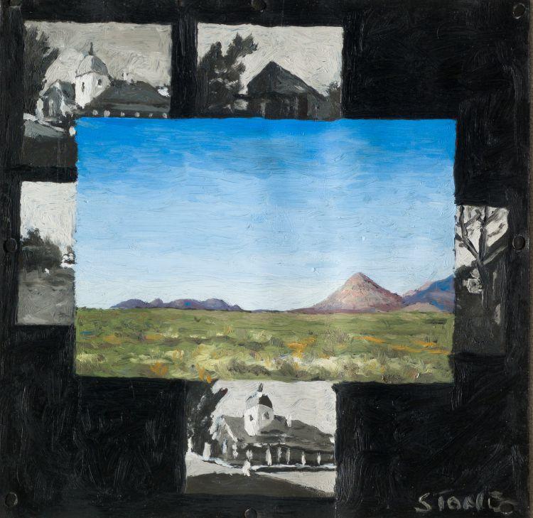 Simon Stone; Landscape and Miniatures of Buildings