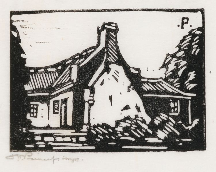 Jacob Hendrik Pierneef; Old House, Silverton