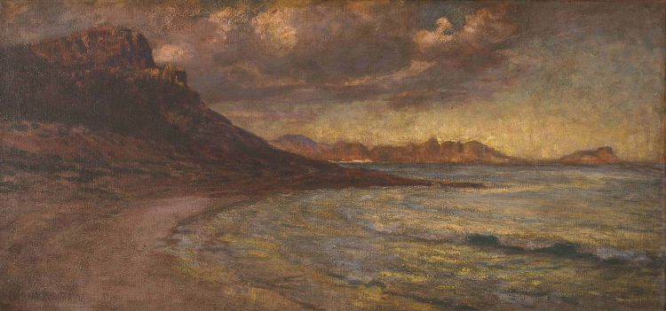 George Crosland Robinson; Elsie's Peak, False Bay