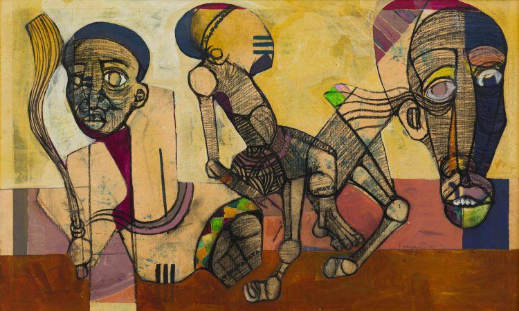 Speelman Mahlangu; Figures and Horse